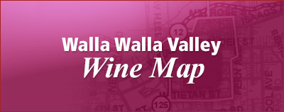 Washington Winery Maps in Walla Walla Valley