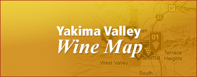 Washington Winery Maps in Yakima Valley